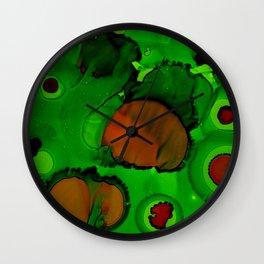 Ameobacado Wall Clock