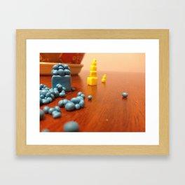 The future pulls you closer! Framed Art Print