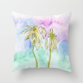 Little Pieces of Dust Throw Pillow