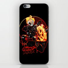 Hell on Big Wheel iPhone & iPod Skin