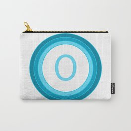 Blue letter O Carry-All Pouch