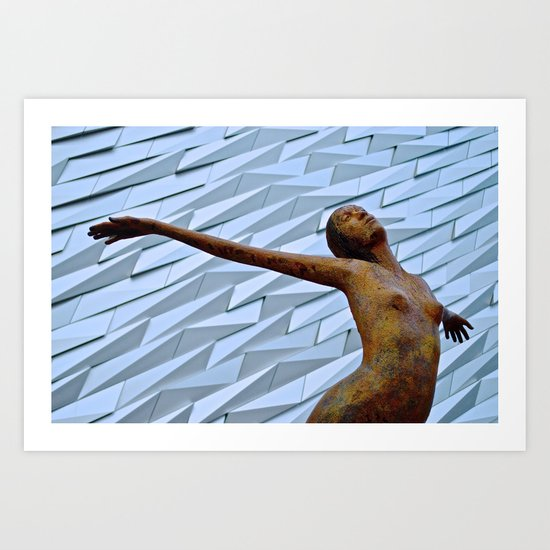 Titantic Art Art Print