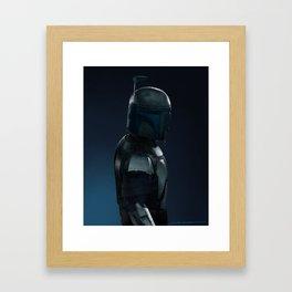Jango Fett Framed Art Print