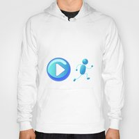 play Hoodies featuring Play by Cs025