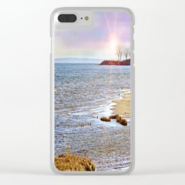 Sunset At The Beach - Tod's Point Clear iPhone Case