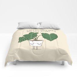 Plant talk Comforters