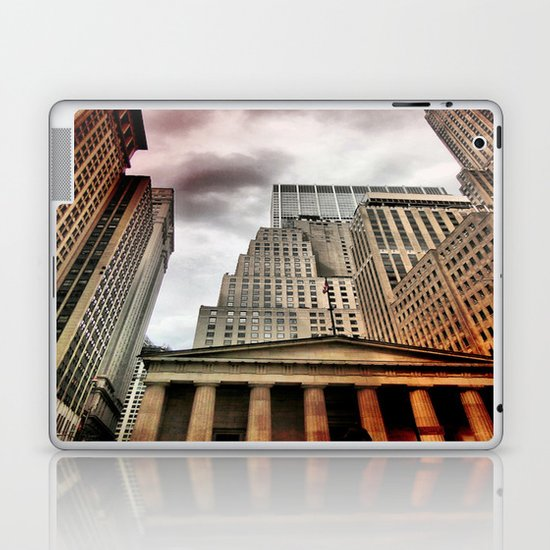 Wall Street Laptop & iPad Skin