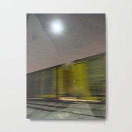Take A Fast Train Metal Print