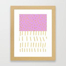 AZTEC BABE - Modern Pink Furniture Framed Art Print