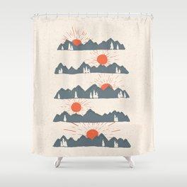 Sunrises... Sunsets... Shower Curtain