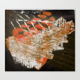Materials Collage Canvas Print