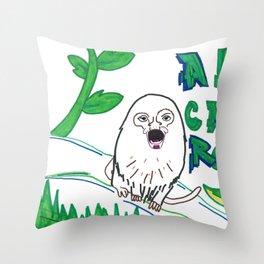 El Grito De La Jungla! Throw Pillow