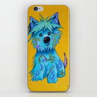 westie iPhone & iPod Skins featuring Westie dog by K.ForstnerArt