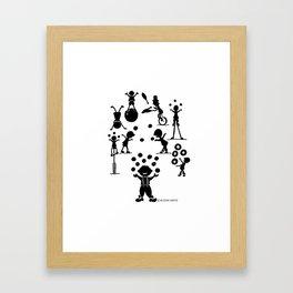 Jugglefest! Framed Art Print