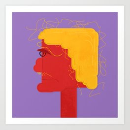 Unsatisfied Customer Six Art Print