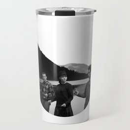 Collage Bande à part (Band of Outsiders) - Jean-Luc Godard Travel Mug