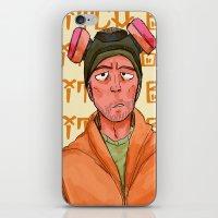 jesse pinkman iPhone & iPod Skins featuring jesse pinkman  by zacksellsstuff
