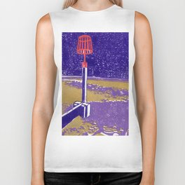 Seaview Fire Beacon in Purple Biker Tank