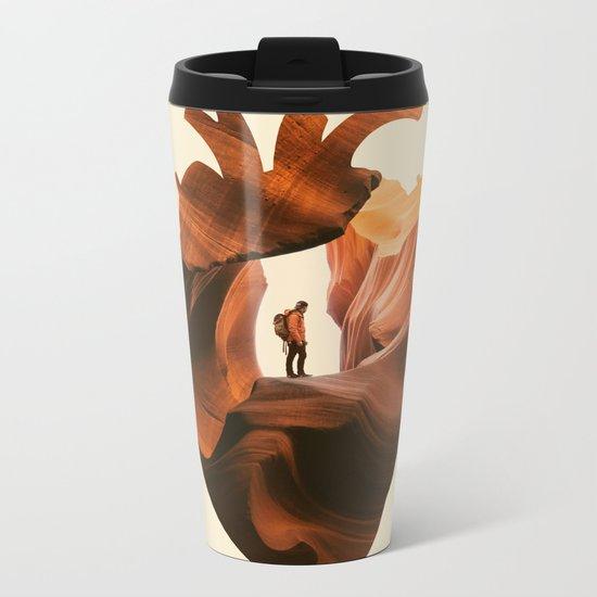 Heart Explorer Metal Travel Mug
