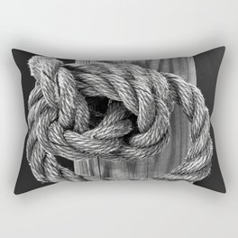 Knot A Rope Knot Rectangular Pillow