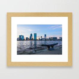 Jacksonville Waterfront Framed Art Print