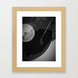Vinyl 1 Framed Art Print