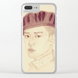 Chen | Royal Clear iPhone Case