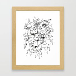Botanical Bouquet Framed Art Print