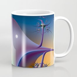 Abstract Upstairs Downstairs Balconies Coffee Mug