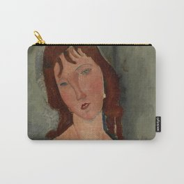 "Amedeo Modigliani ""Portrait of a Young Woman"" Carry-All Pouch"