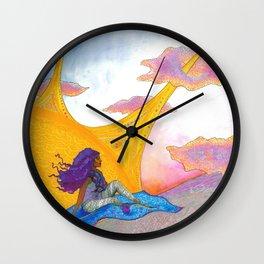 The Sun Begins to Shine Wall Clock
