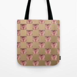 Checkerboard Pussy 2 Tote Bag
