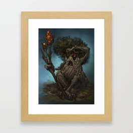 treeking Framed Art Print
