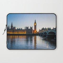 Big Ben During Sunset   London England Europe Cityscape Night Photography Laptop Sleeve