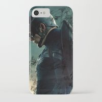 steve rogers iPhone & iPod Cases featuring Steve Rogers 006 by TheTreasure