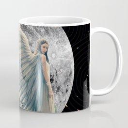 The Moon Angel Coffee Mug