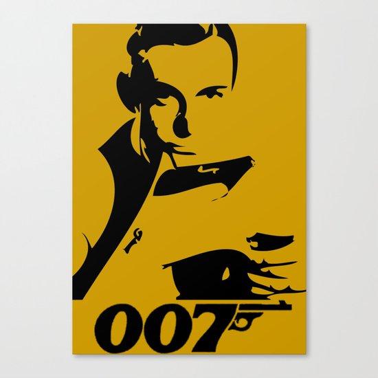 007 James Bond Canvas Print