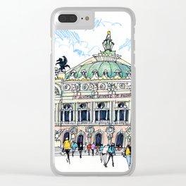 Palais Garnier, Paris Clear iPhone Case