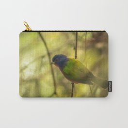 Nonpareil: A Painted Bunting Carry-All Pouch