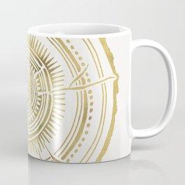 Quaking Aspen – Gold Tree Rings Coffee Mug