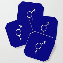 Symbol of Transgender VIII Coaster