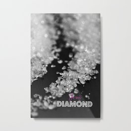 Je sui Diamond Metal Print