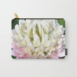 Flower | Flowers | One Clover Flower | Nature Photography | Nadia Bonello Carry-All Pouch