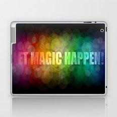 Let magic happen! Laptop & iPad Skin