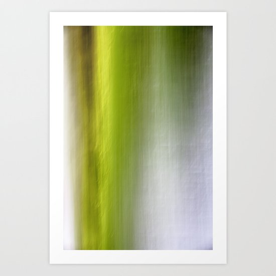 Abstract Reedbed Art Print