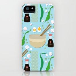 Shio Ramen iPhone Case