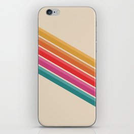 Retro - Downhill #743 iPhone Skin