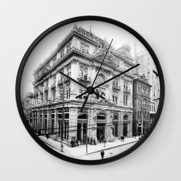 Cotton Exchange New Orleans 1881 Wall Clock