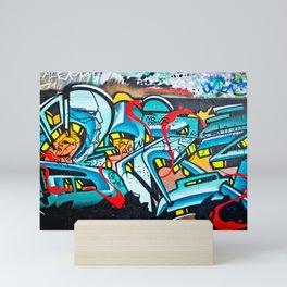 Subway Graffiti Art Mini Art Print