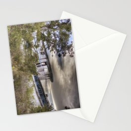 Shipwrecked at sunset Stationery Cards